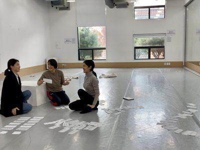 seoul dance  center 滞在制作②