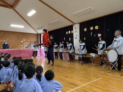神河町・寺前幼稚園ワークショップ最終日