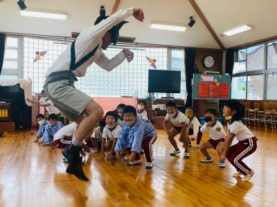 神河町寺前幼稚園で「アートのじかん」開催!